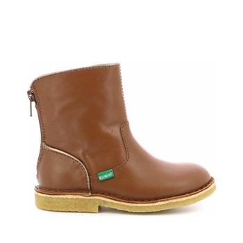 Kickers - Kick boot - Boots en cuir de vache - marron clair