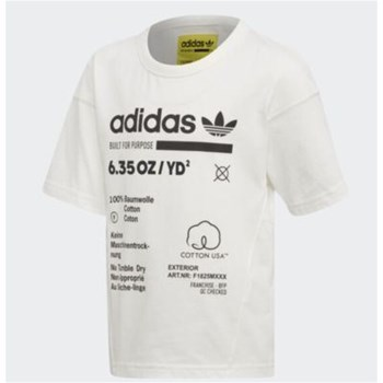 adidas Originals - L Kaval - T-shirt manches courtes - blanc