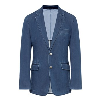 Hackett London - Veste de costume - bleu