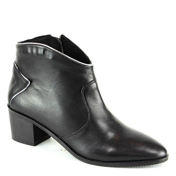 Manoukian - Beverly - Bottines en cuir - noir