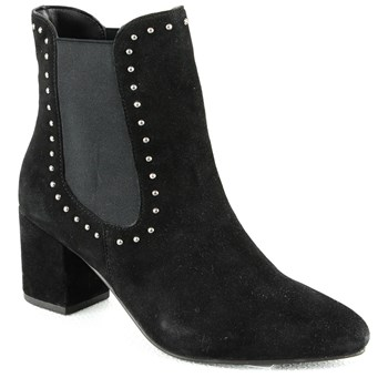 Manoukian - Bertille - Bottines en cuir - noir