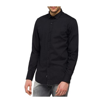 Replay - Chemise manches longues - noir