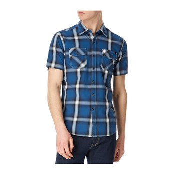 Replay - Chemise manches courtes - bleu