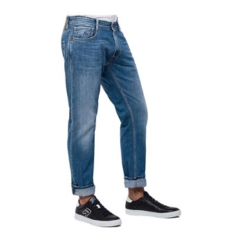 Replay - Rob straight tapered - Jean droit - bleu