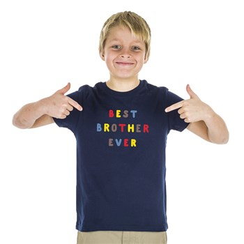 We are family - Best Brother Ever - T-shirt manches courtes - bleu marine