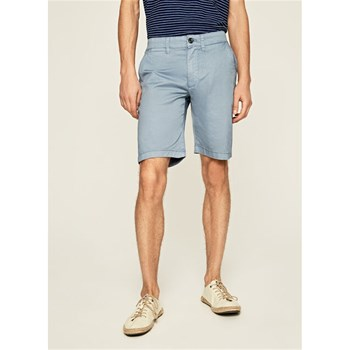 Pepe Jeans London - Mc Queen - Short chino - bleu