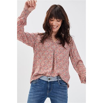 Bonobo Jeans - Harvardluref - Blouse - rouge
