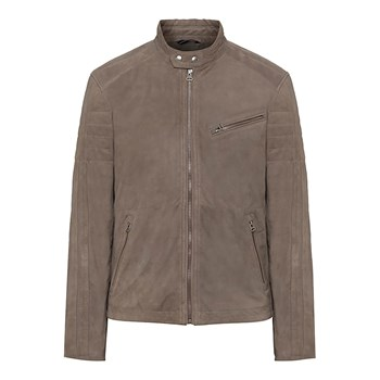 Hackett London - Veste en cuir - brun