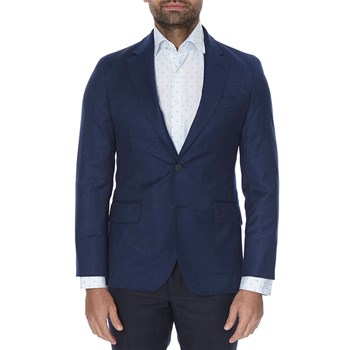 Hackett London - Blazer en laine - bleu
