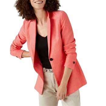 Pure Collection - Blazer en lin - orange