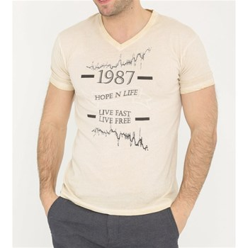 Hope N Life - Boost - T-shirt manches courtes - beige