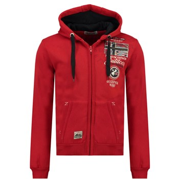 Geographical Norway - GOTHAM - Sweat à capuche - rouge