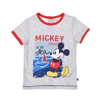 Mickey - T-shirt manches courtes - gris