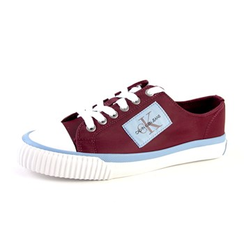Calvin Klein Jeans - Ivory - Baskets basses - bordeaux