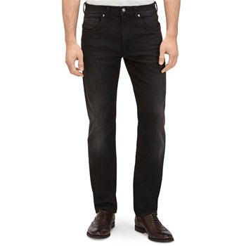 7 For All Mankind - Slimmy Relaxed - Jean regular - noir