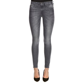 7 For All Mankind - The Skinny Stretch - Jean skinny - gris