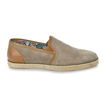 Roadsign - Leriko - Slip-on en cuir - taupe