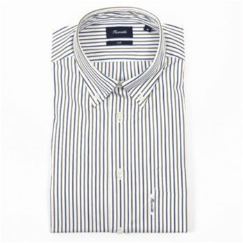 Faconnable - Chemise manches longues - blanc