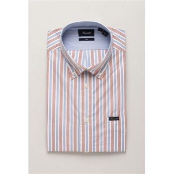 Faconnable - Chemise manches longues - rouge