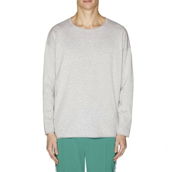 Benetton - Pull - gris chiné