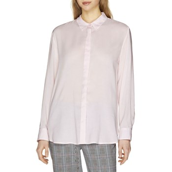 Benetton - Chemise manches longues - rose