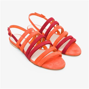 Camper - Sandales en cuir - orange