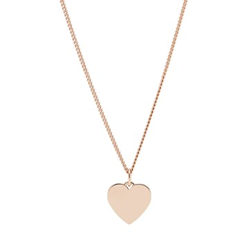 Fossil - Collier pendentif - Rose gold