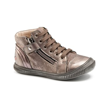 Gbb - Rachida - Bottines en cuir - taupe