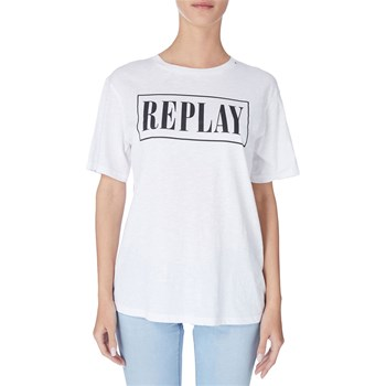 Replay - T-shirt manches courtes - blanc