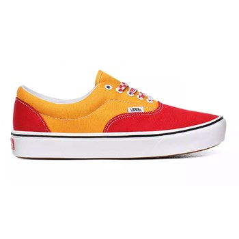 Vans - UA ComfyCush Era - Tennis en cuir - rouge