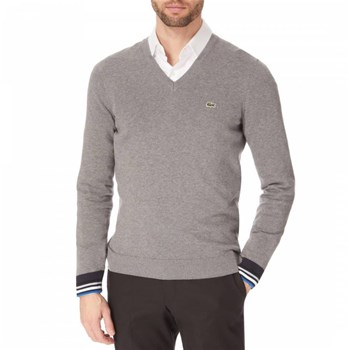 Lacoste - Pull - gris
