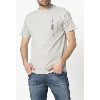Diesel - T-Just-Pocket - T-shirt manches courtes - gris chiné