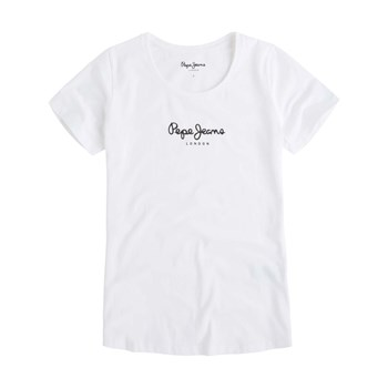 Pepe Jeans London - New Virginia - T-shirt manches courtes - blanc