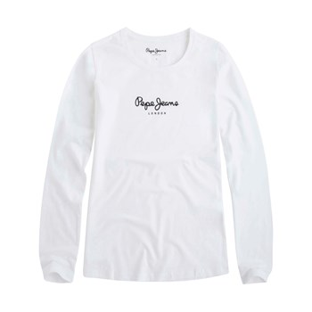 Pepe Jeans London - New Virginia - T-shirt manches longues - blanc