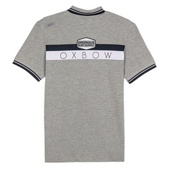 Oxbow - Nervi - Polo manches courtes - gris chiné