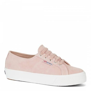 Superga - 2750 - Tennis en cuir - rose