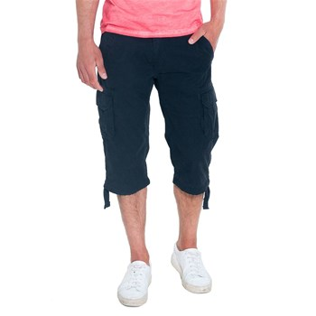 French Denim - Pantacourt multipoches - anthracite