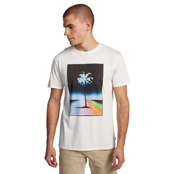 Quiksilver - Mistery Light - T-shirt manches courtes - blanc