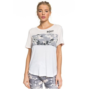 Roxy - Party all the time - T-shirt manches courtes - blanc