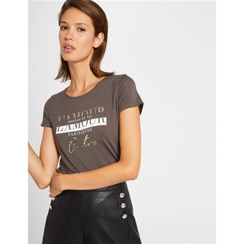 Morgan - T-shirt manches courtes - marron