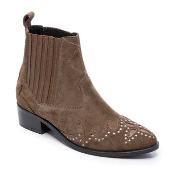 Pepe Jeans Footwear - Chiswick easy - Bottines en cuir - marron