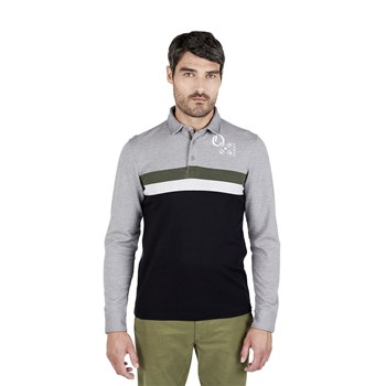 Oxbow - Nomes - Polo manches longues - gris chiné