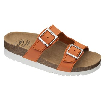 Scholl - Filippa - Sandales en cuir - orange