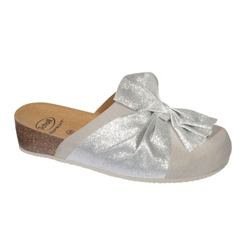 Scholl - Lucy - Mules - gris clair