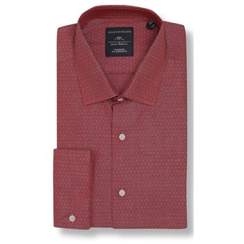 Pierre Clarence - Chemise manches longues - rouge