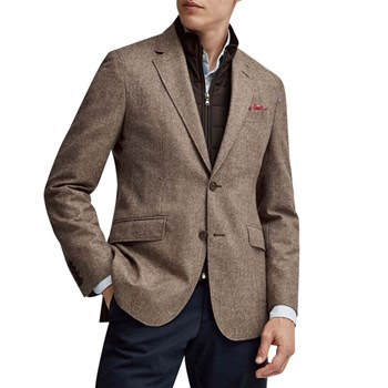 Hackett London - Blazer en laine - marron