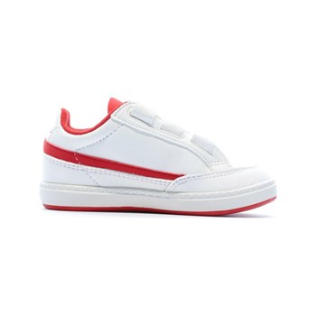 Le Coq Sportif - Courtclay Inf Sport - Baskets basses - blanc