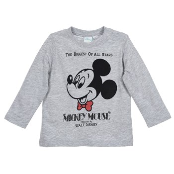 Mickey - T-shirt manches longues - gris