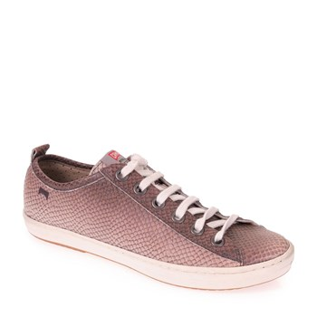Camper - Baskets basses en cuir - rose