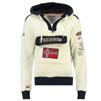 Geographical Norway - GYMCLASS SHERCO - Polaire - blanc